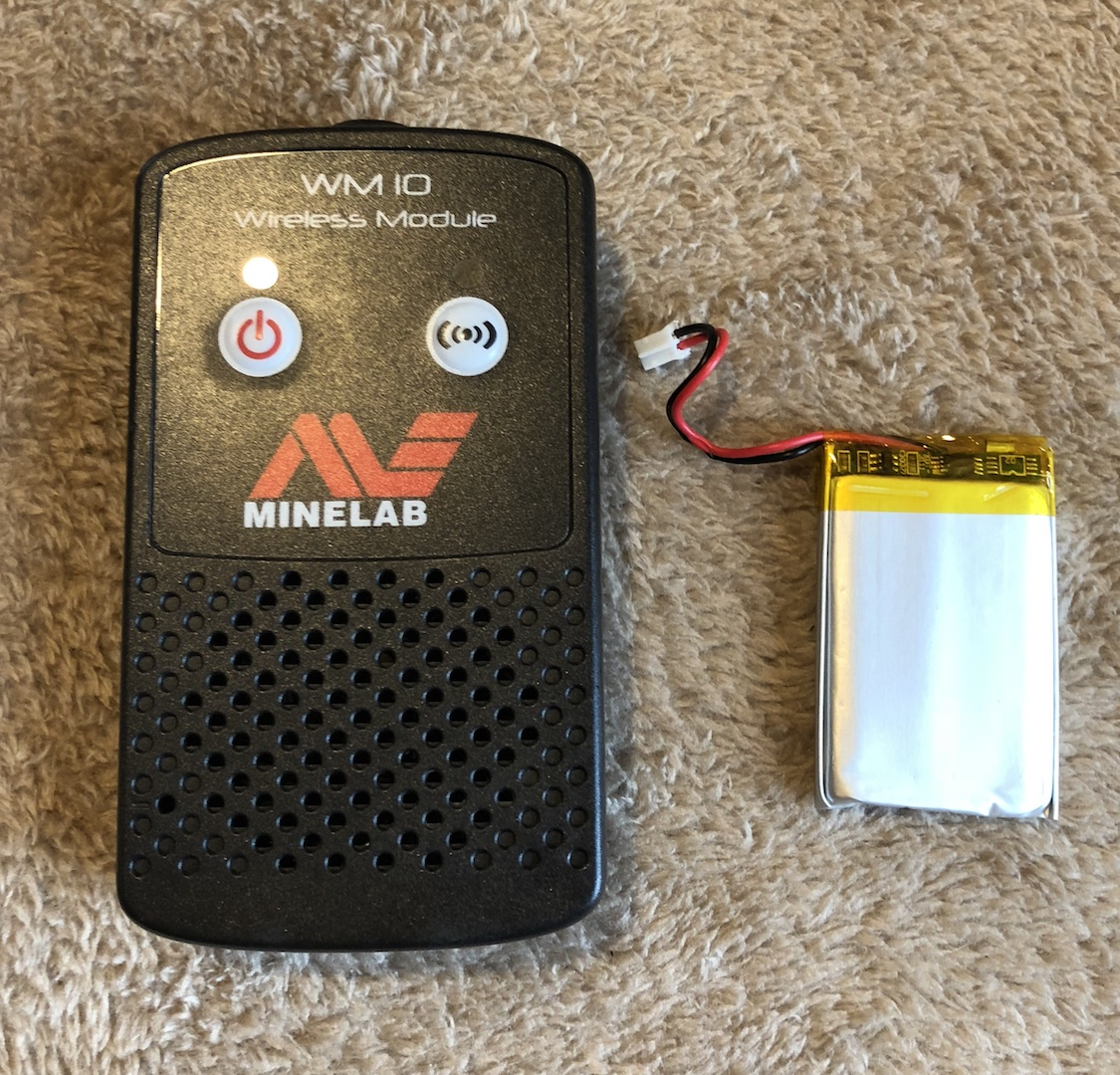 Minelab WM10 and WM12 Aftermarket Replacement Battery